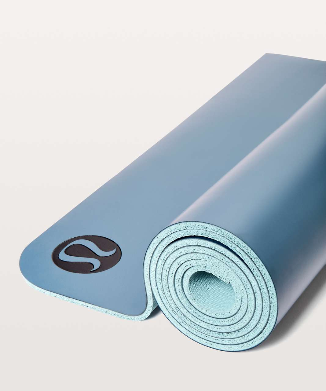 1e4053c599 Lululemon The Reversible Mat 5mm - Slate Blue / Cloud Blue - lulu fanatics