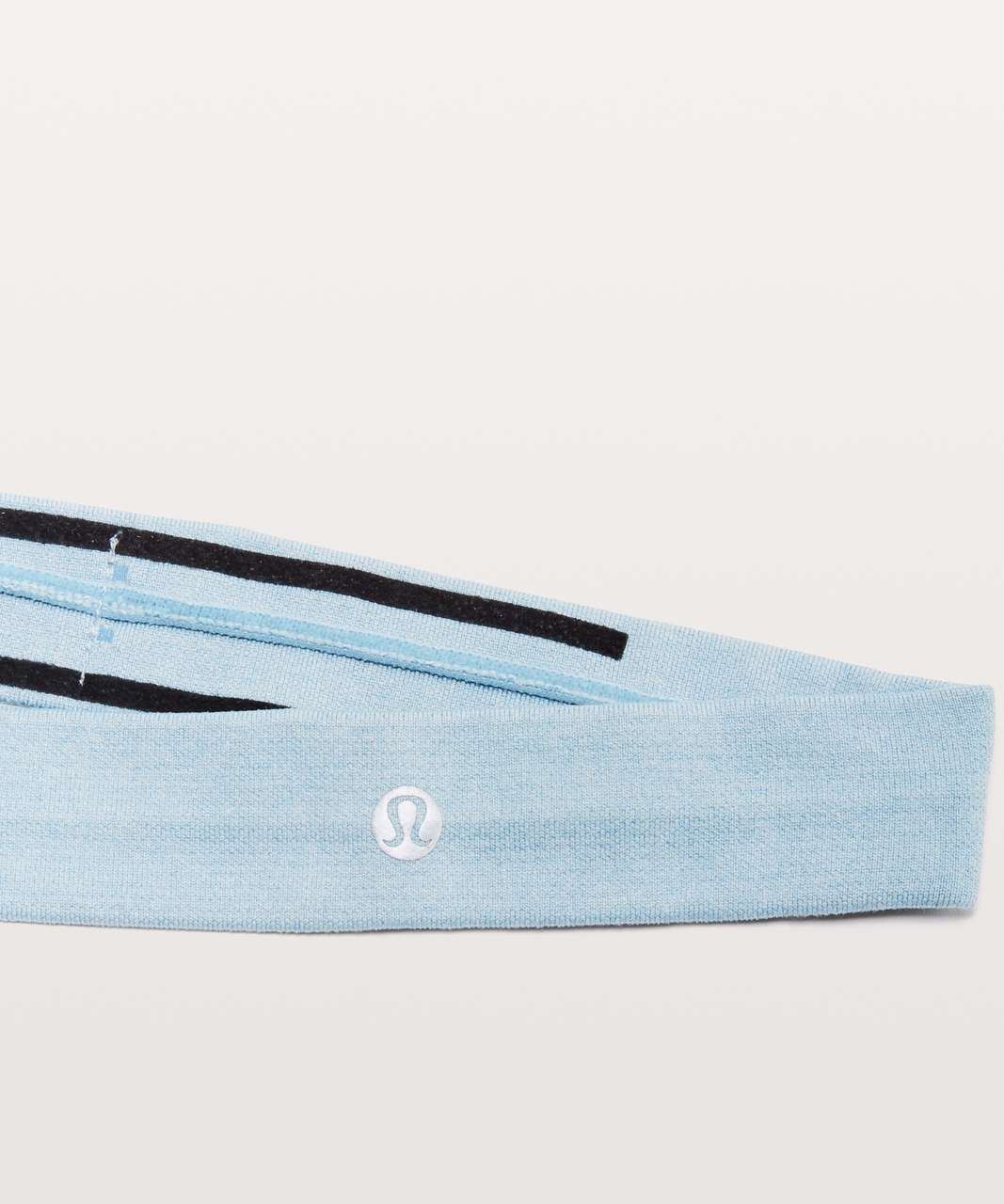 Lululemon Cardio Cross Trainer Headband - Cascade Blue / White