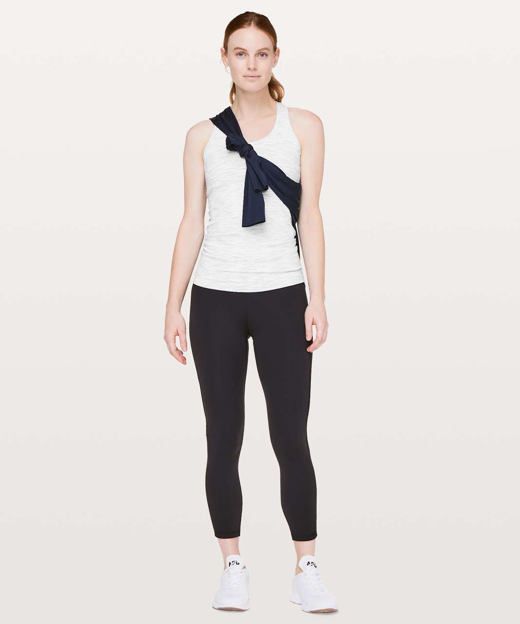 Lululemon Cool Racerback II - Wee Are From Space Nimbus Battleship