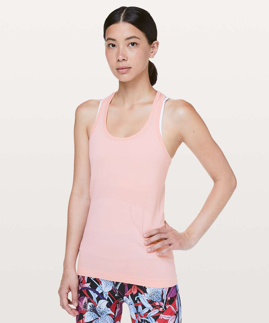 Lululemon Swiftly Tech Racerback - Dusty Pink / Dusty Pink