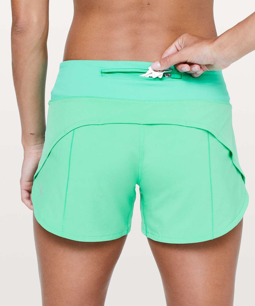"Lululemon Speed Up Short *Long 4"" - Bali Breeze"