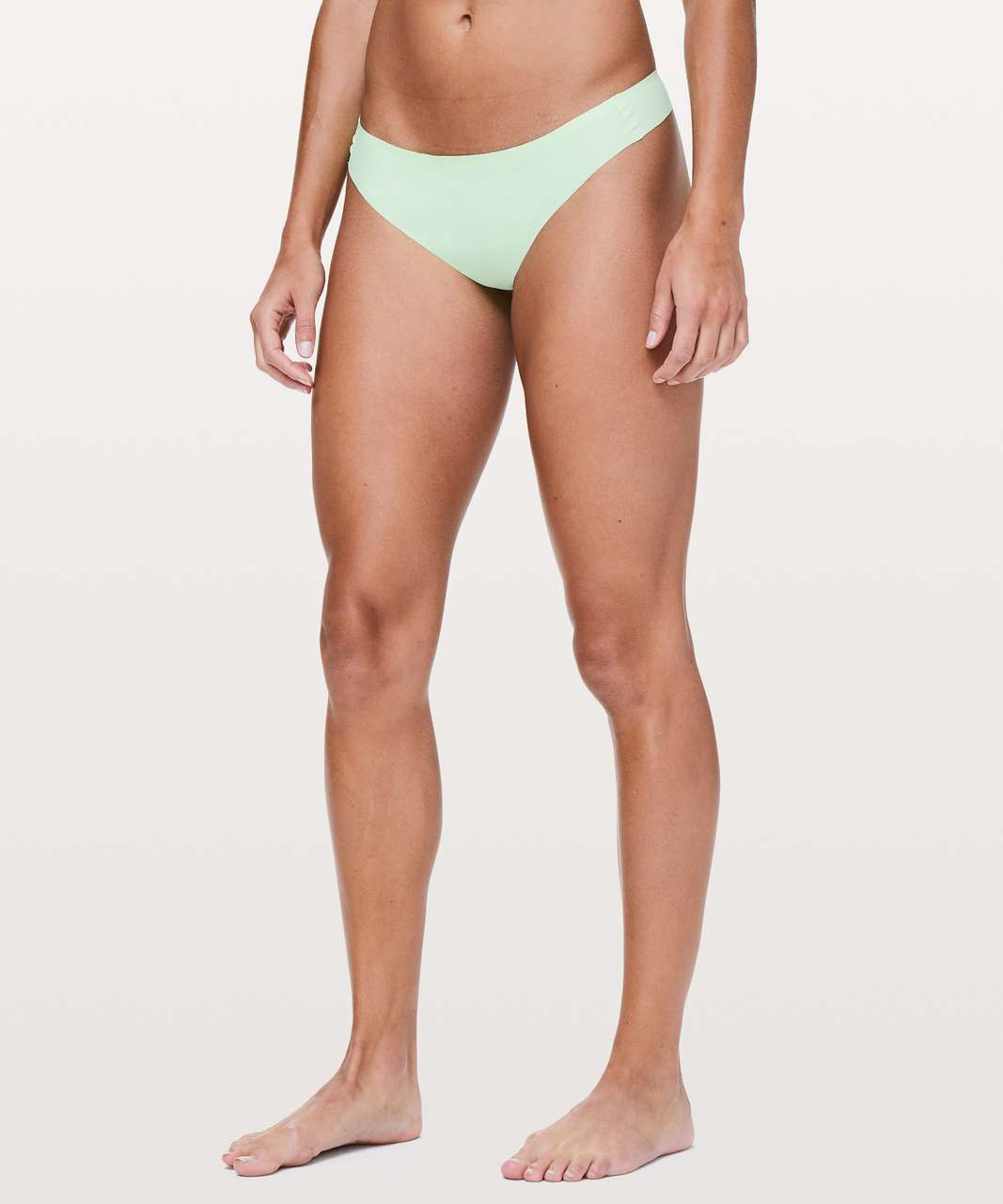 Lululemon Namastay Put Thong II - Citra Lime
