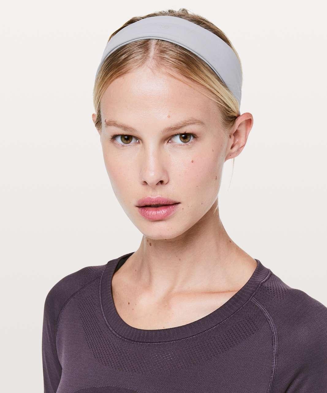 Lululemon Fly Away Tamer Headband II *Luxtreme - Lavender Grey