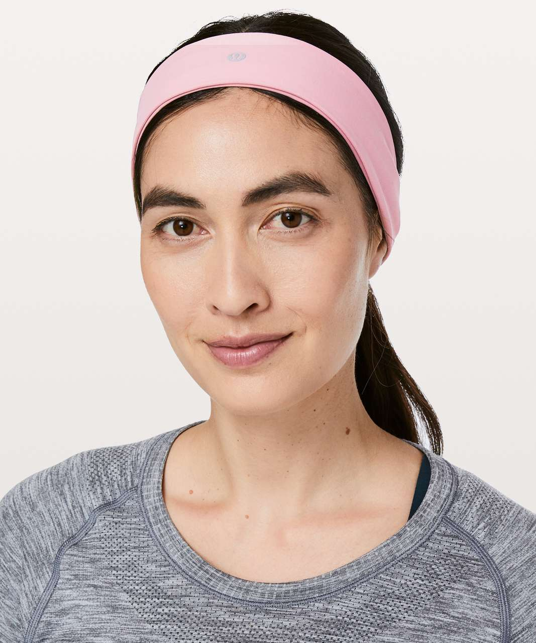 7489c7f9677 Lululemon Fly Away Tamer Headband II *Luxtreme - Rose Tea - lulu fanatics