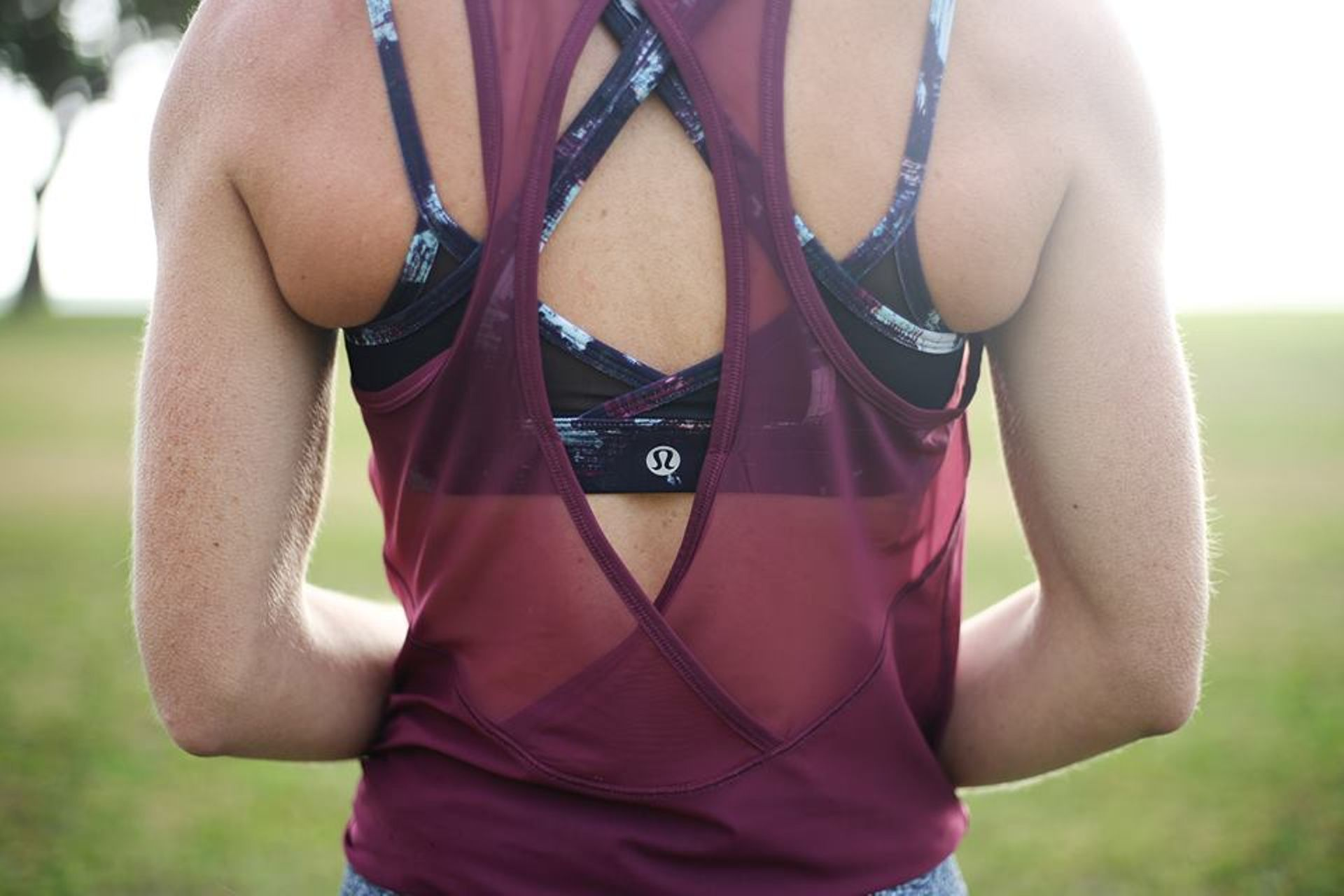 Lululemon Tranquil Tank - Red Grape