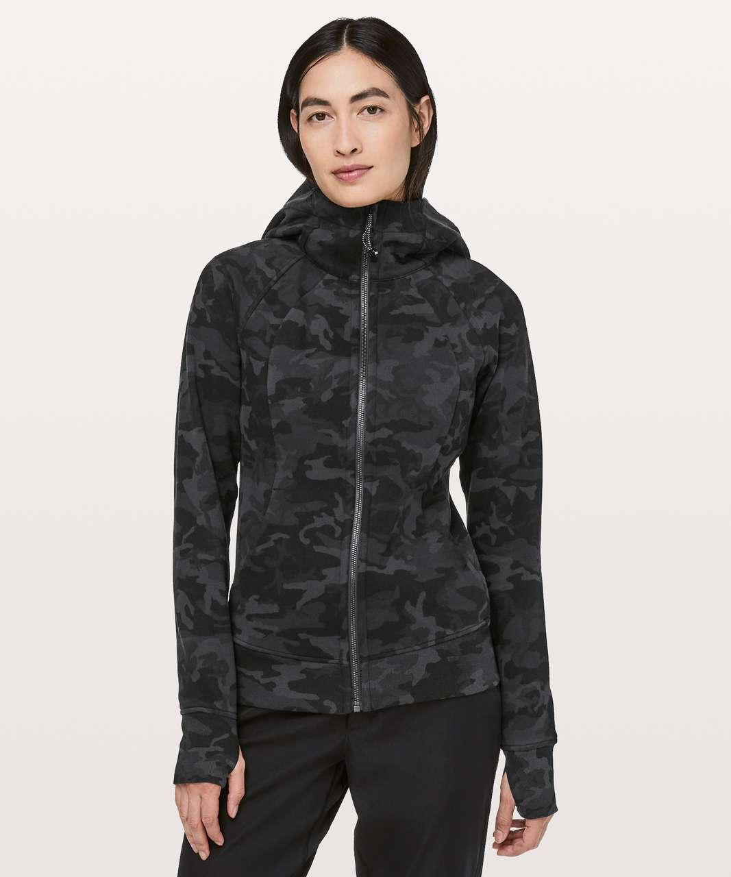 Lululemon Scuba Hoodie *Light Cotton Fleece - Incognito Camo Multi Grey