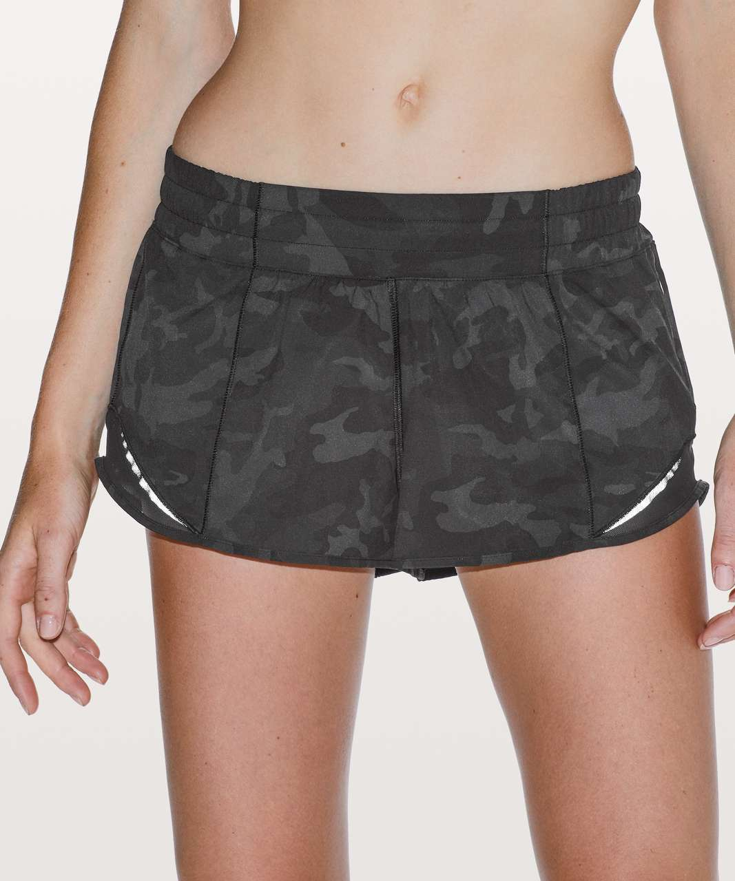 """Lululemon Hotty Hot Short II *2.5"""" - Incognito Camo Multi Grey / Black (First Release)"""