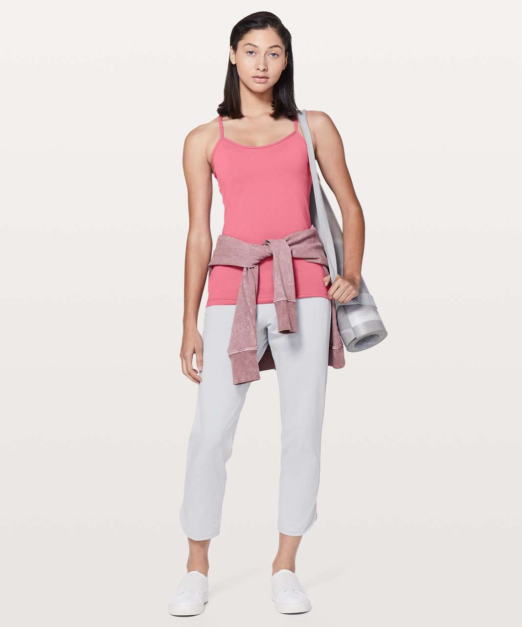 Lululemon Power Y Tank *Luon - Cherry Tint
