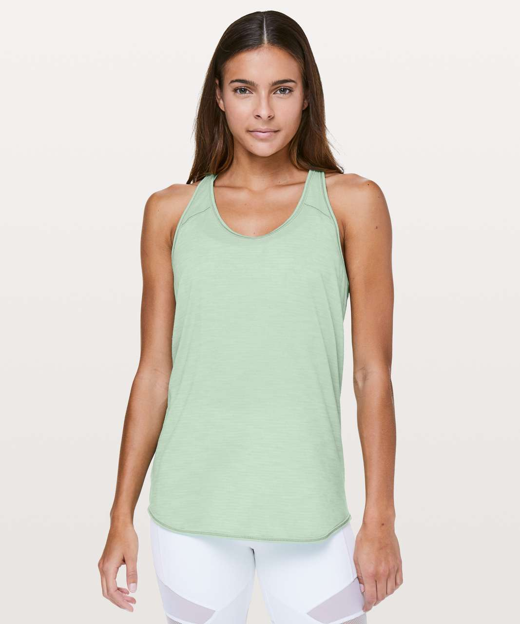 Lululemon Essential Tank - Heathered Opal Green