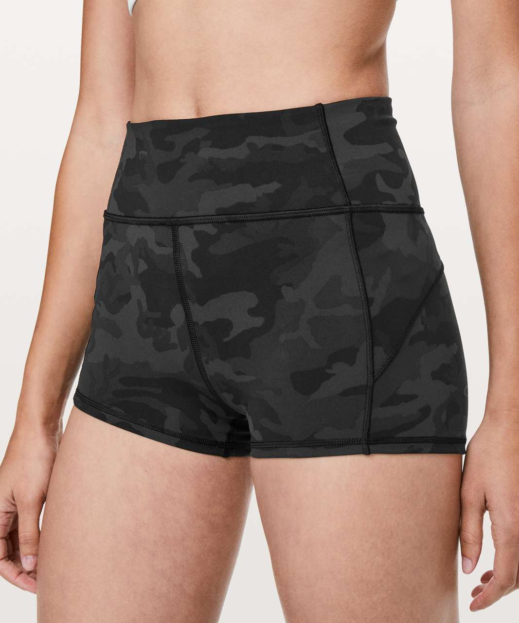 "Lululemon In Movement Short *Everlux 2.5"" - Incognito Camo Multi Grey"