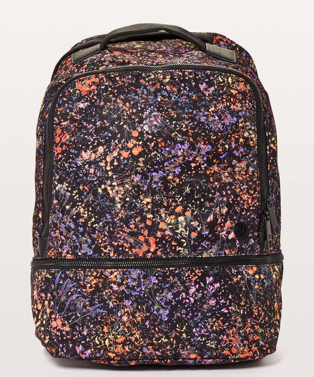 Lululemon City Adventurer Backpack *17L - Flowerescent Multi / Black