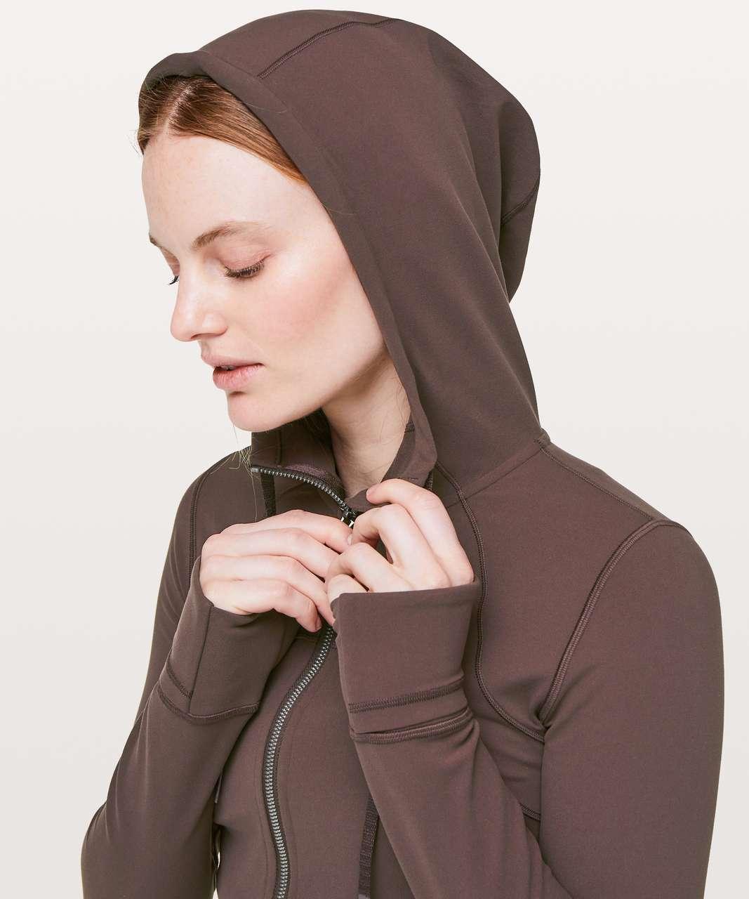 Lululemon Hooded Define Jacket *Nulu - Black Satin