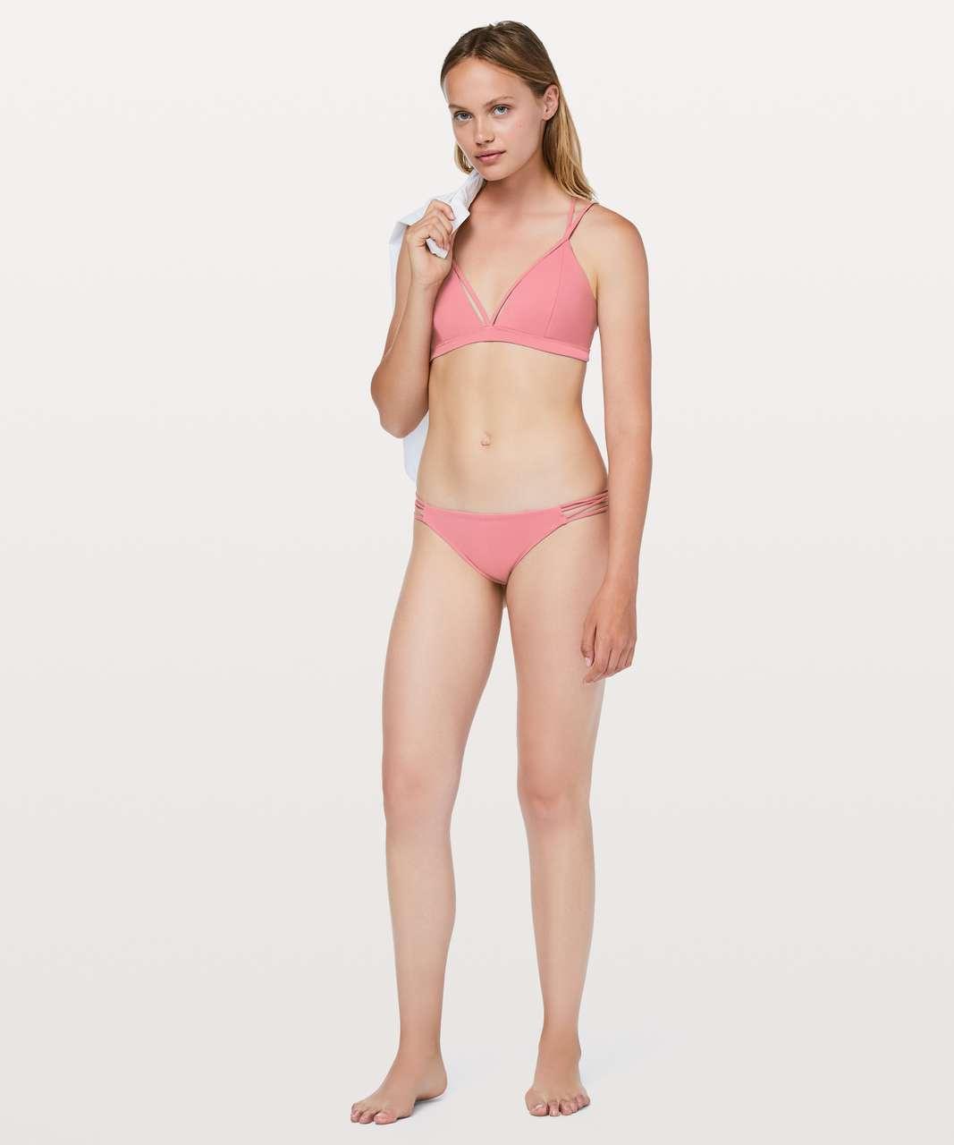 3fd447d0249 Lululemon Shoreline Bikini Bottom - Cherry Tint
