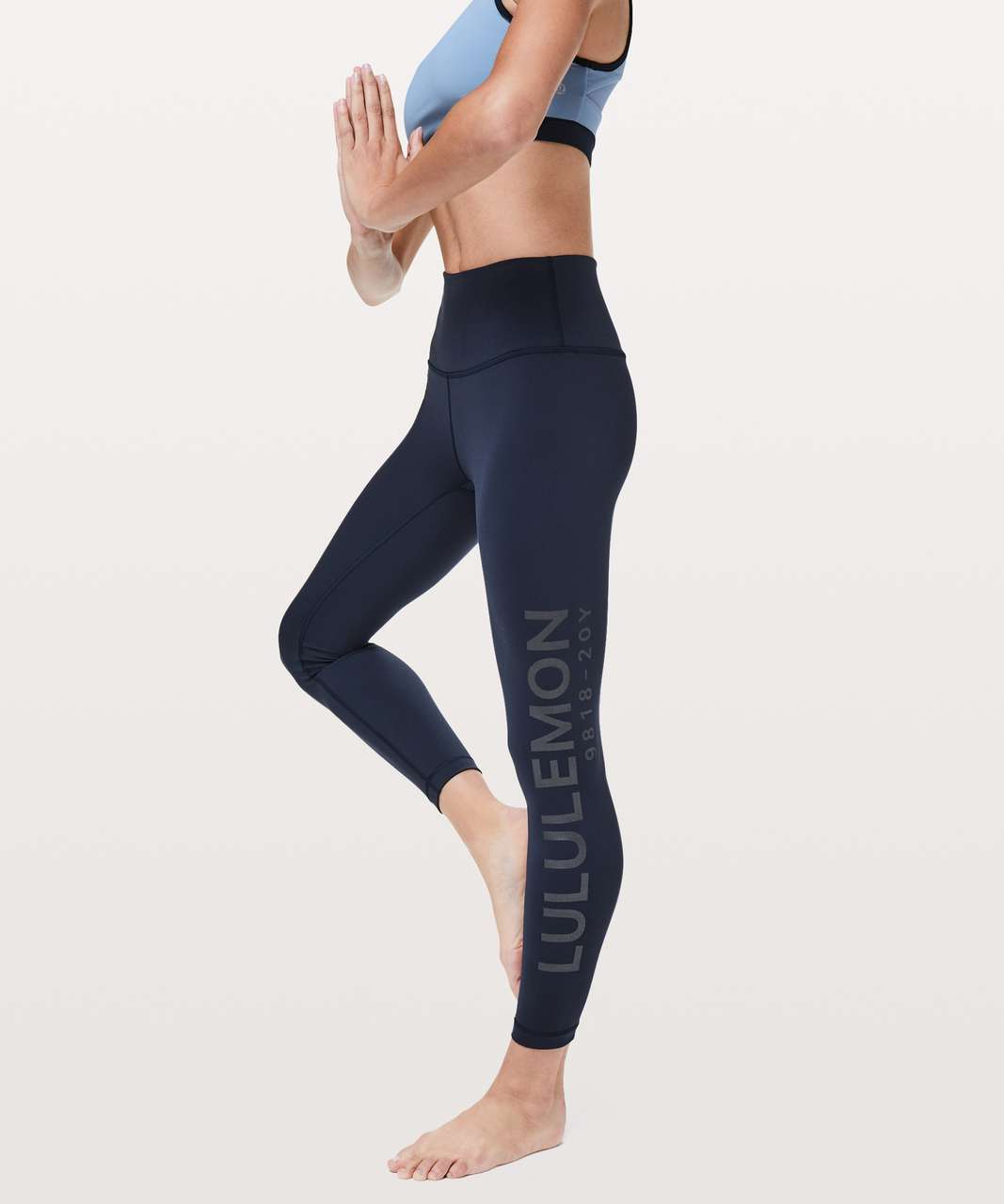 "Lululemon Wunder Under Hi-Rise 7/8 Tight *20Y Collection 25"" - True Navy"