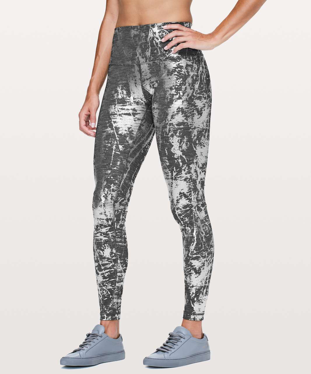 d2b5100188 Lululemon Wunder Under Hi-Rise Tight *Brindle Foil 28