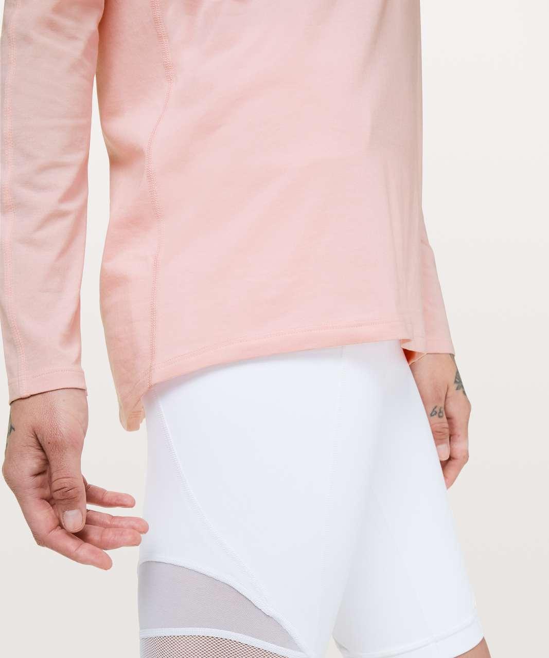 Lululemon Emerald Long Sleeve - Dusty Pink