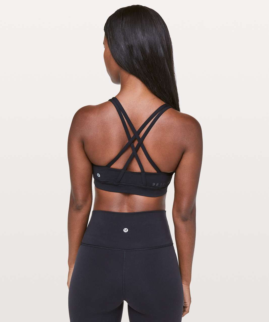 Lululemon Energy Bra *20Y Collection - Black