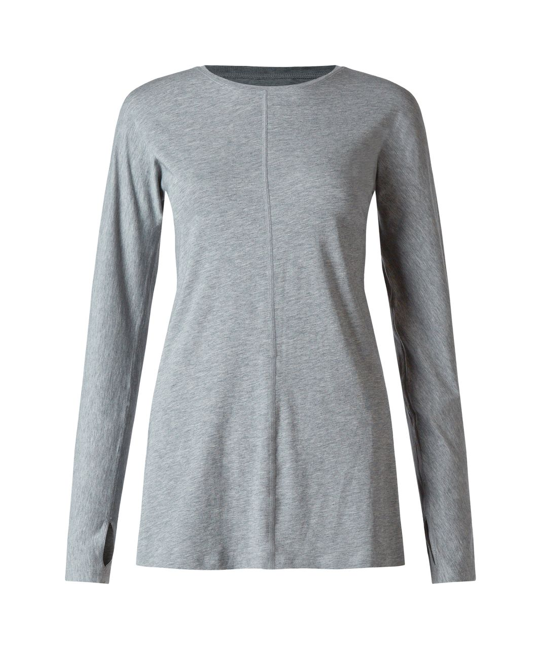 Lululemon Trapeze Long Sleeve - Heathered Medium Grey