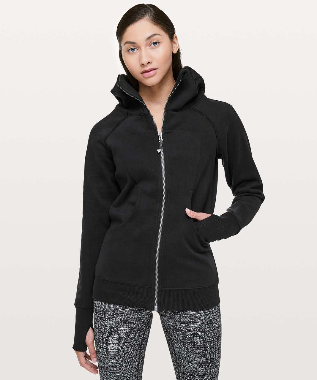 Lululemon Scuba Hoodie *20Y Collection Classic Cotton Fleece - Black