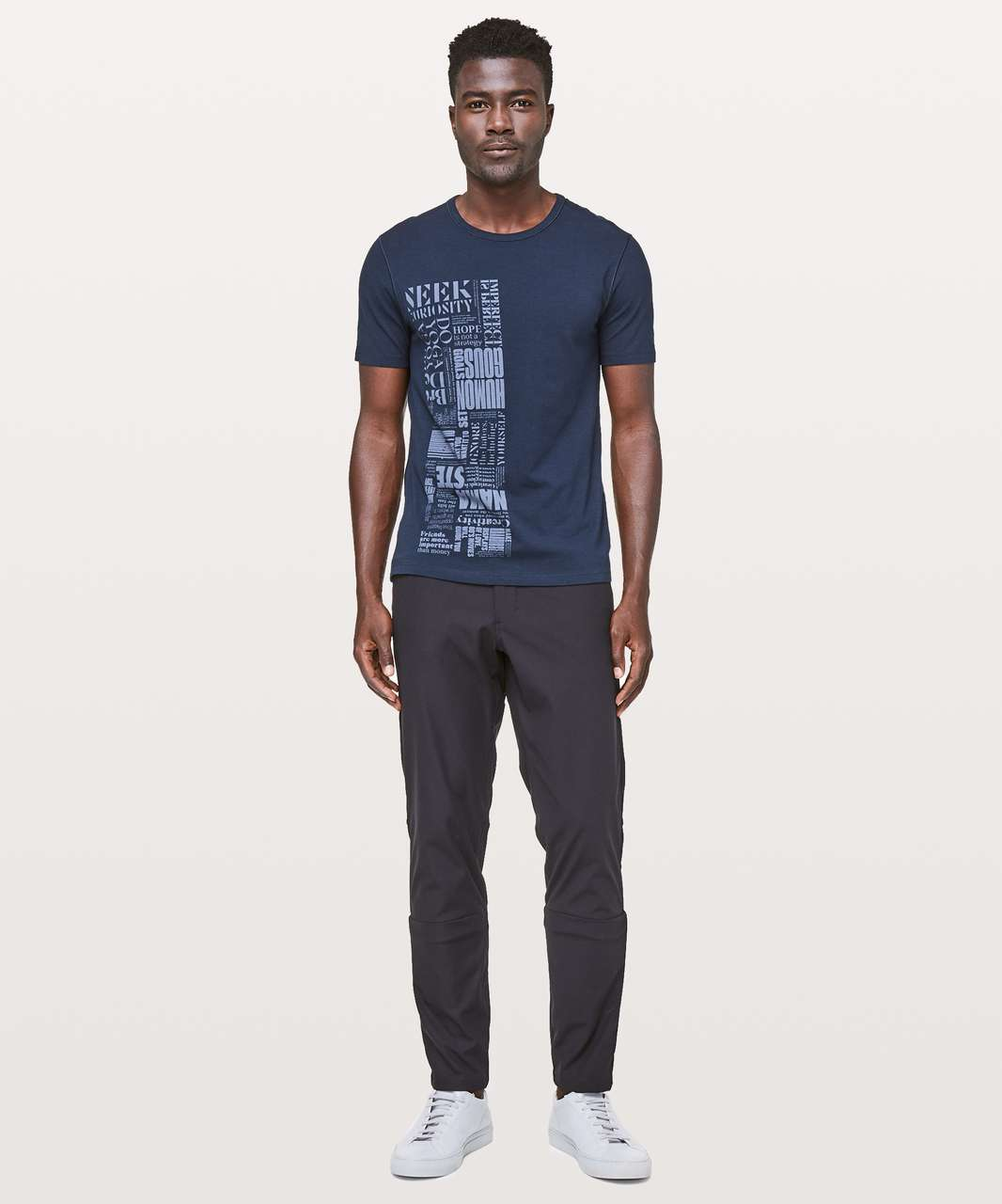 Lululemon 5 Year Basic T *20Y Collection - True Navy (First Release)
