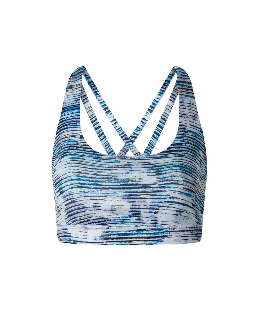 Lululemon Energy Bra - Blurry Belle Multi