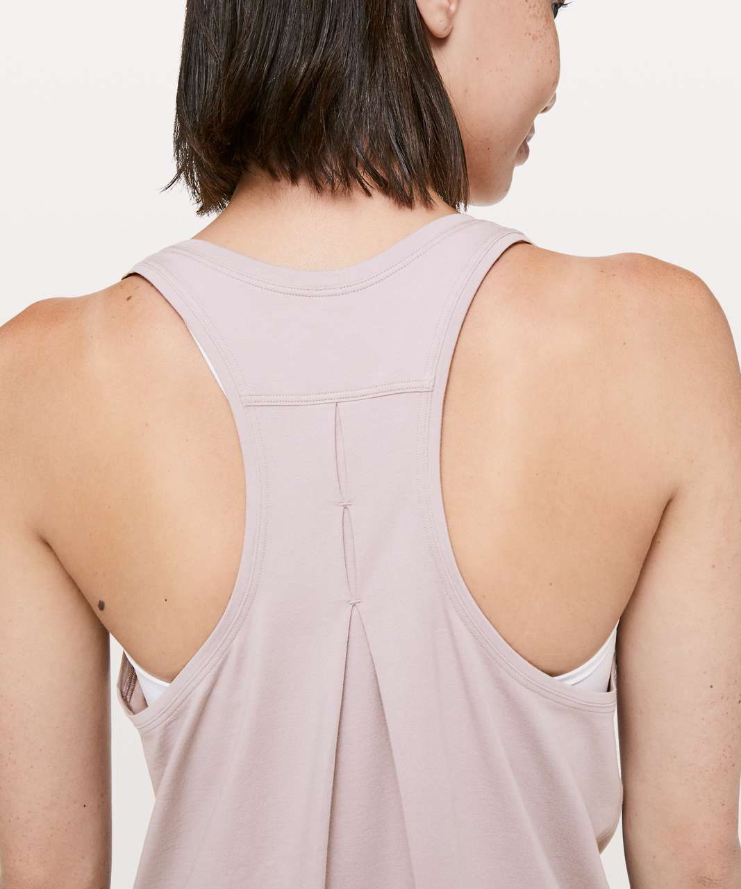 Lululemon Love Tank *Pleated - Smoky Blush