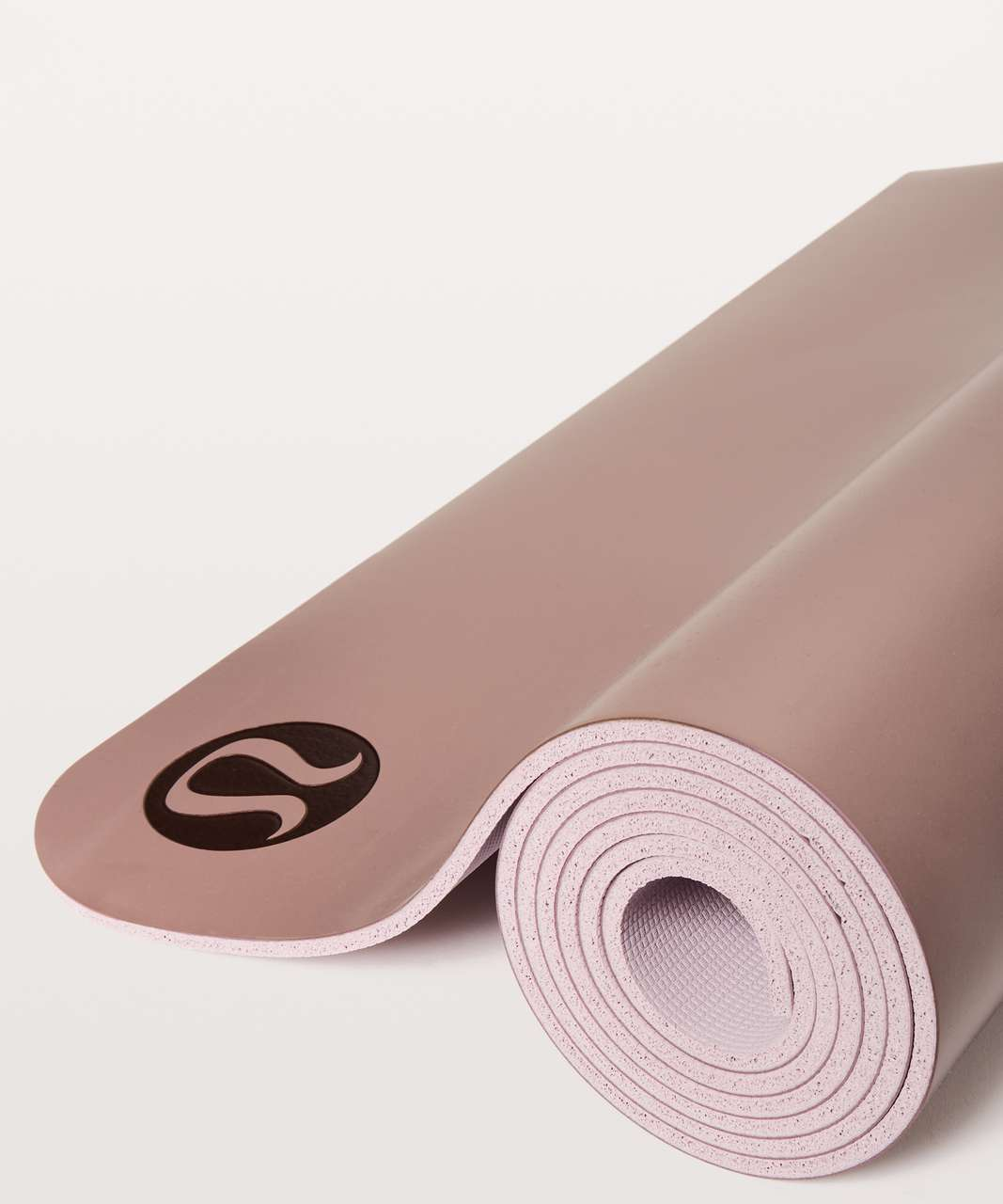 Lululemon The Reversible Mat 5mm - Misty Mauve / Porcelain Pink