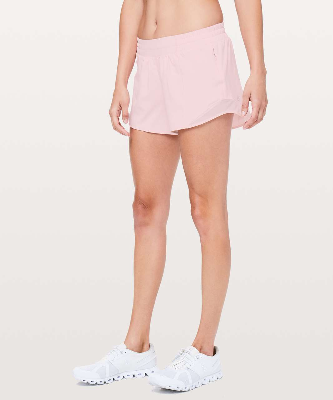 Lululemon Hotty Hot Short Ii Long 4 Dusty Pink Lulu Fanatics