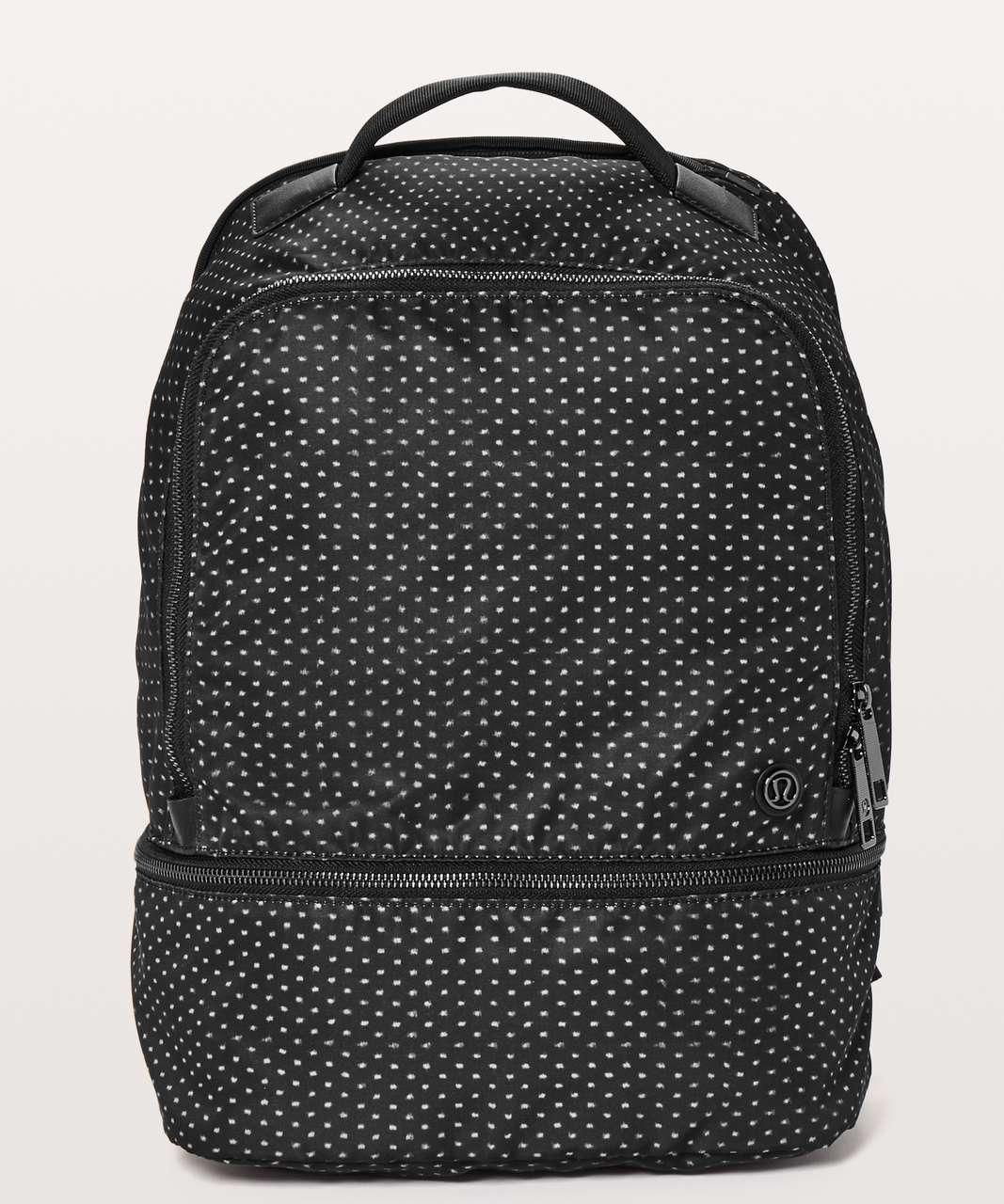 Lululemon City Adventurer Backpack *17L - Ikat Needle Dot Grey Black / Black