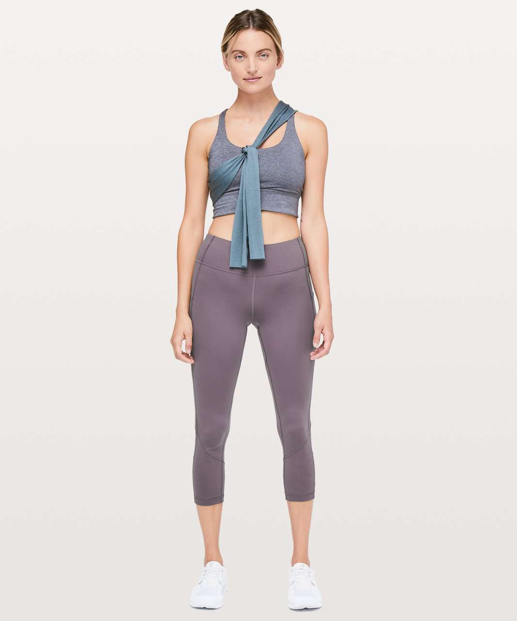 """Lululemon Pace Rival Crop *22"""" - Moonphase"""