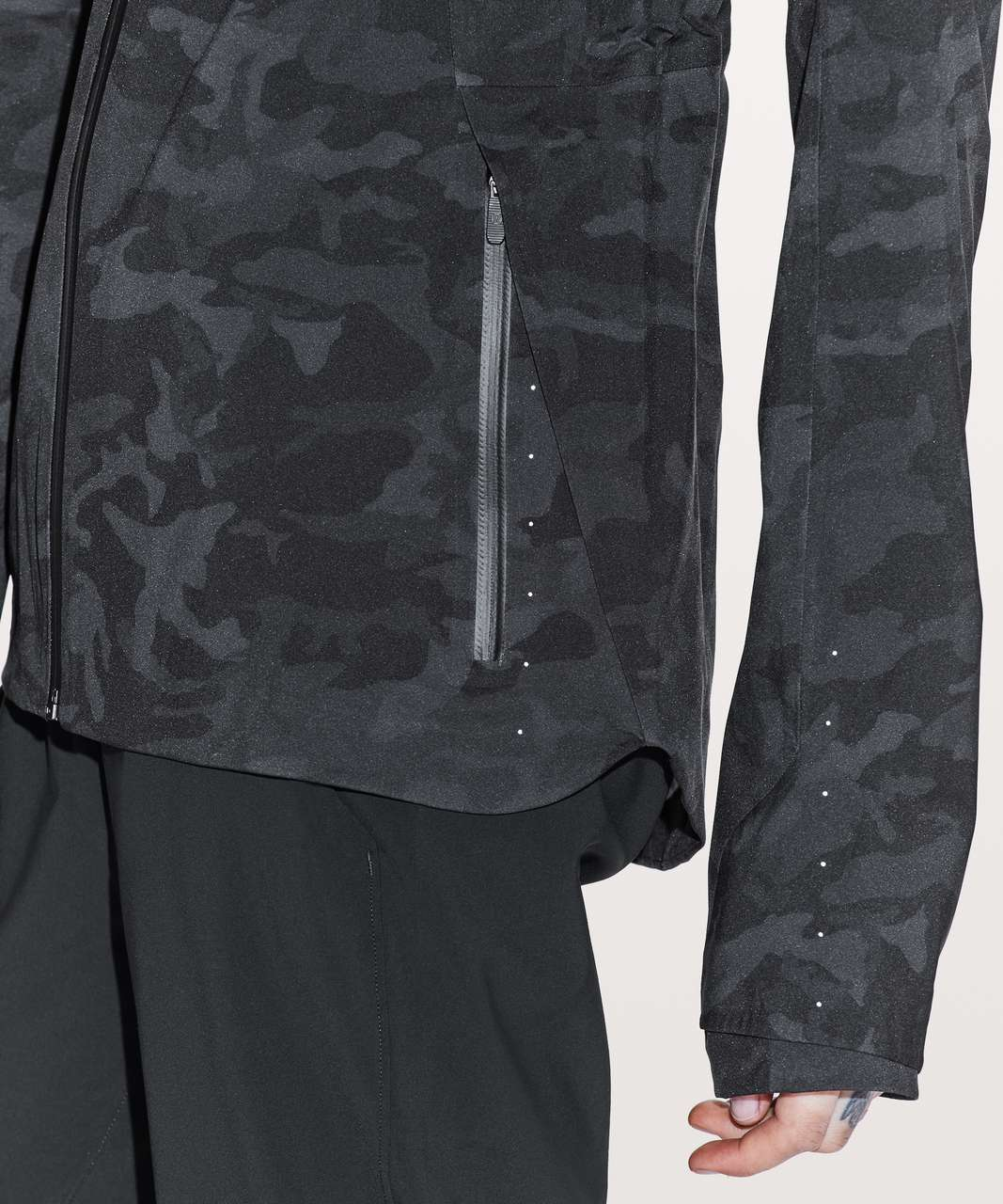 Lululemon The Rain Is Calling Jacket II - Incognito Camo Multi Grey