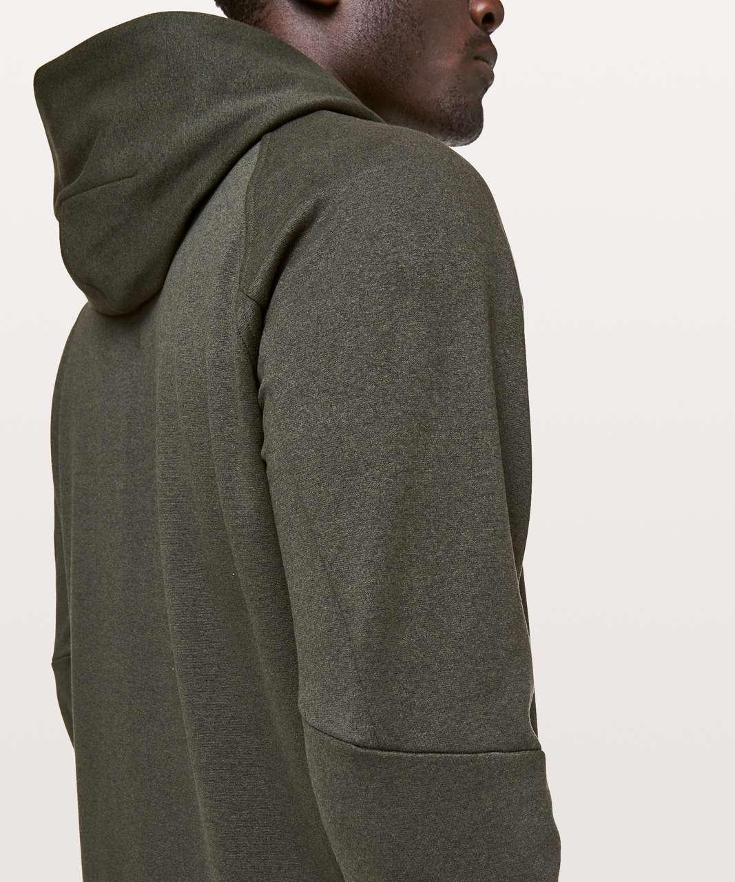 Lululemon City Sweat Pullover Hoodie *Thermo - Heathered Dark Olive