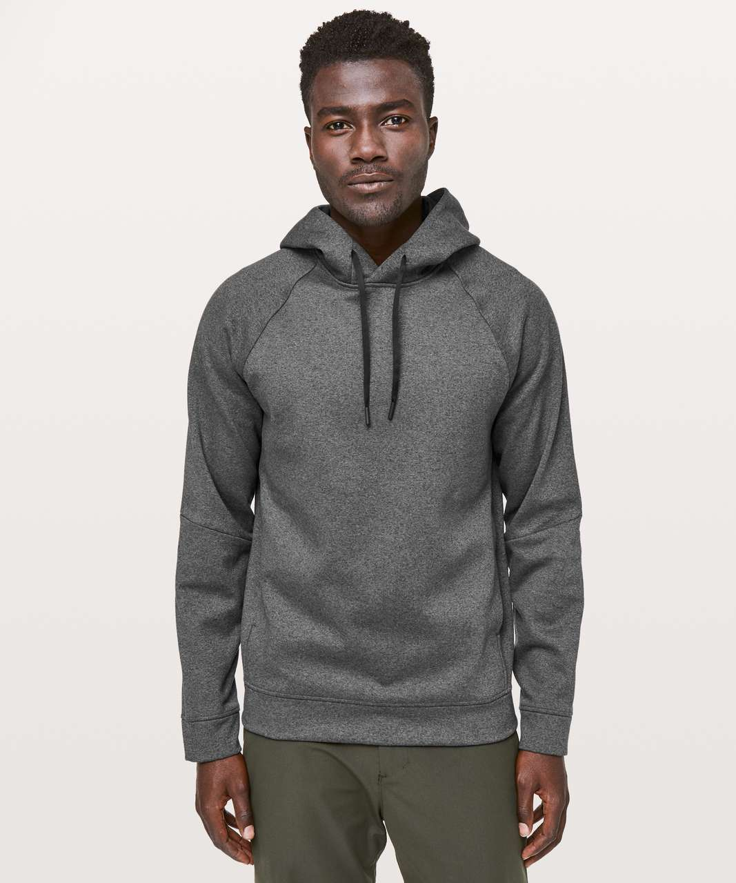 Lululemon City Sweat Pullover Hoodie *Thermo - Heathered Coal