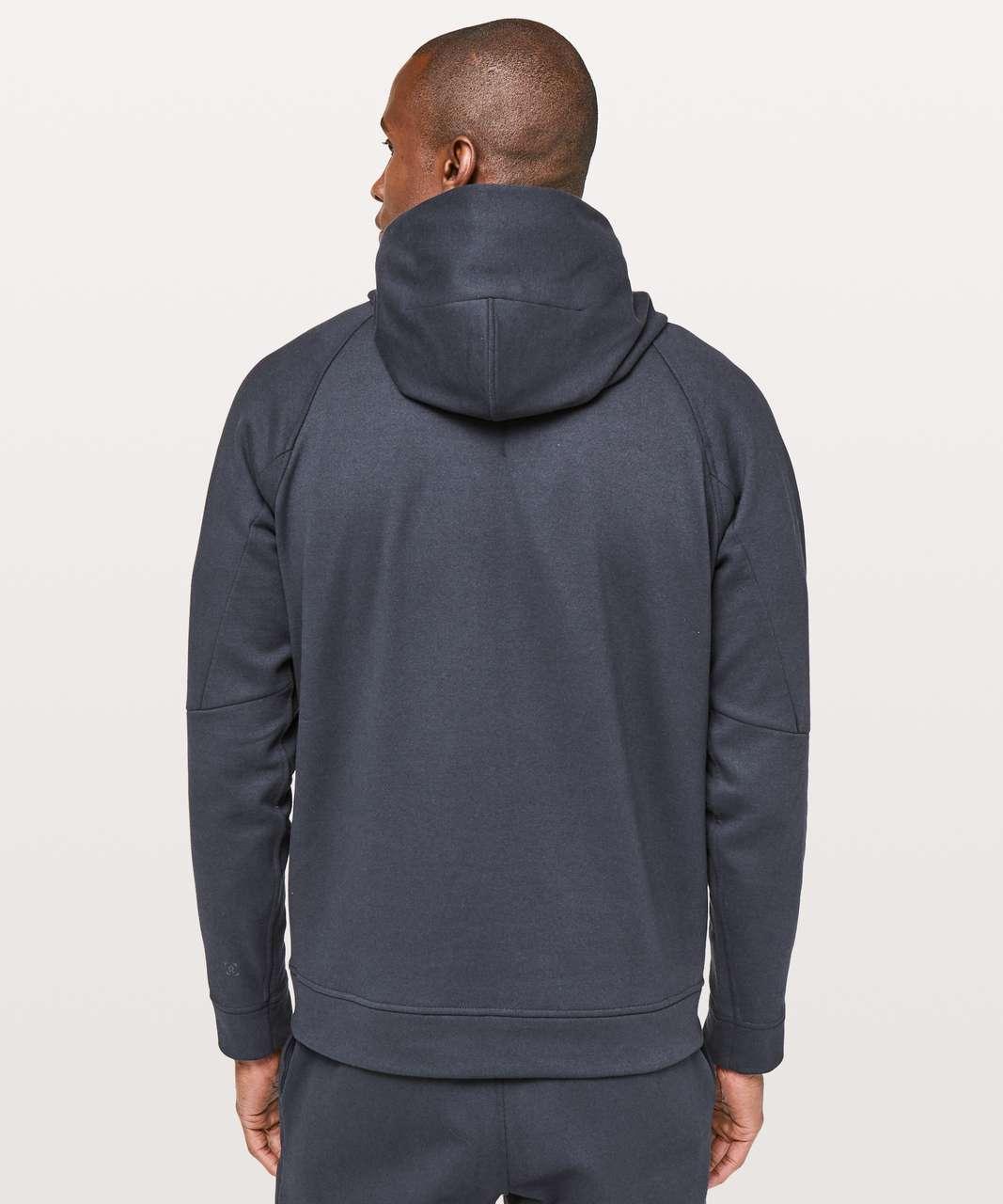 Lululemon City Sweat Pullover Hoodie *Thermo - Heathered Nautical Navy