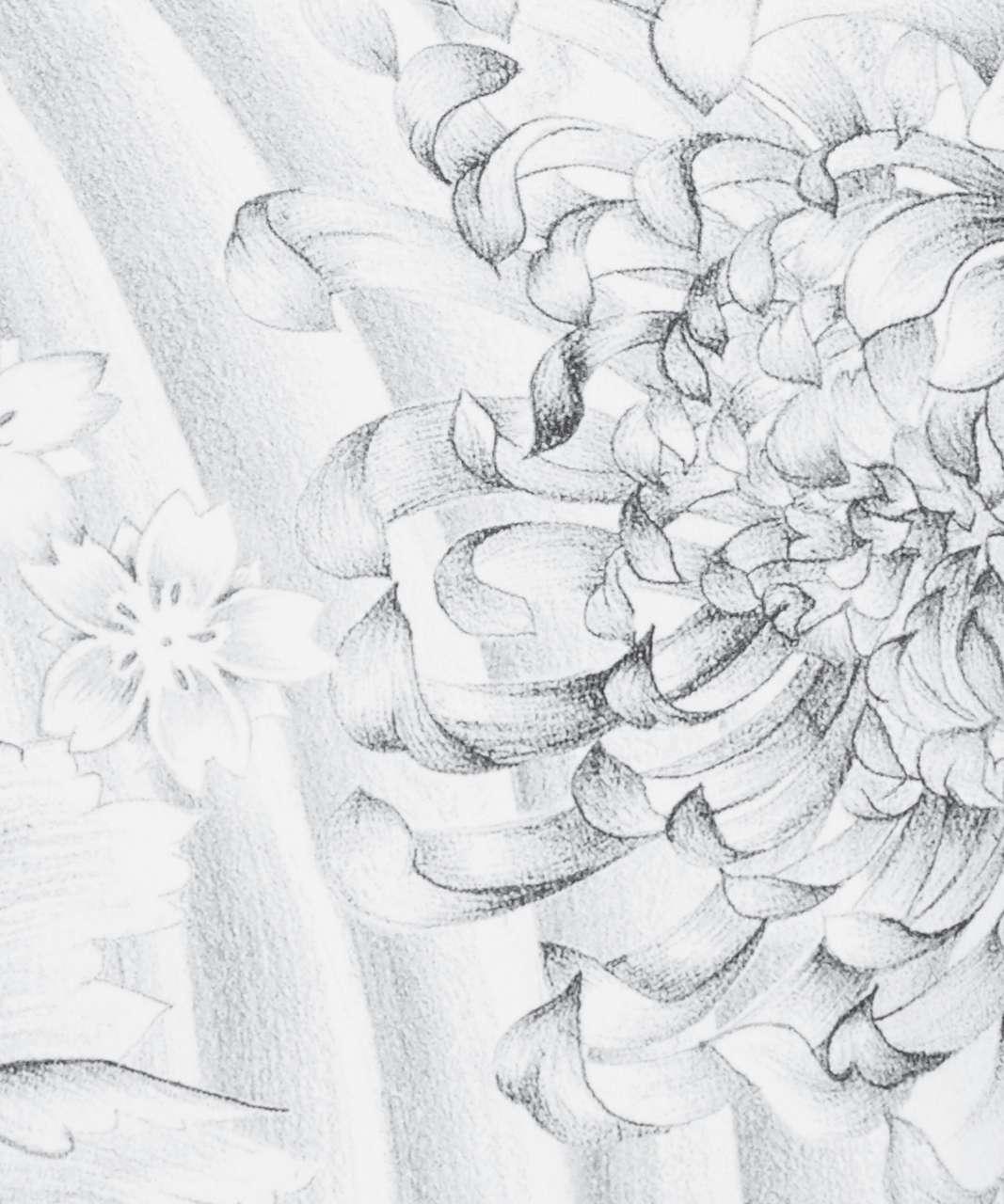 """Lululemon Wunder Under Crop (Hi-Rise) *21"""" - Twine White Multi"""