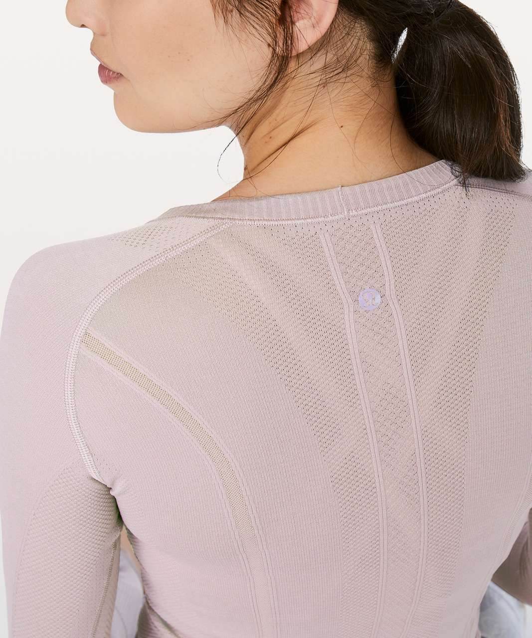 Lululemon Swiftly Tech Long Sleeve Crew - Smoky Blush / Smoky Blush