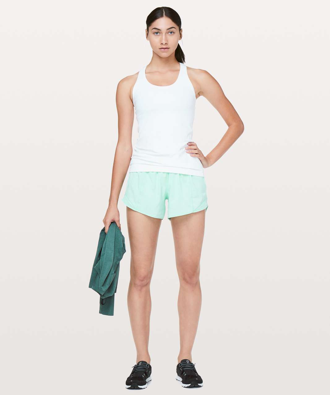 "Lululemon Hotty Hot Short II *Long 4"" - Toothpaste"