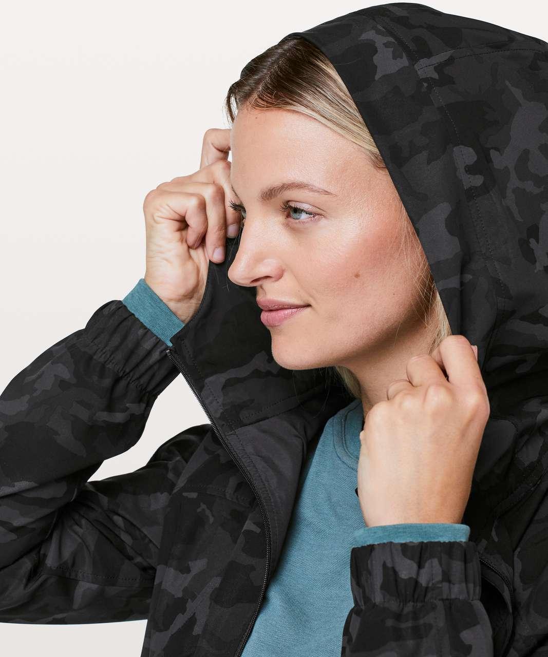 Lululemon Pack It Up Jacket - Incognito Camo Multi Grey