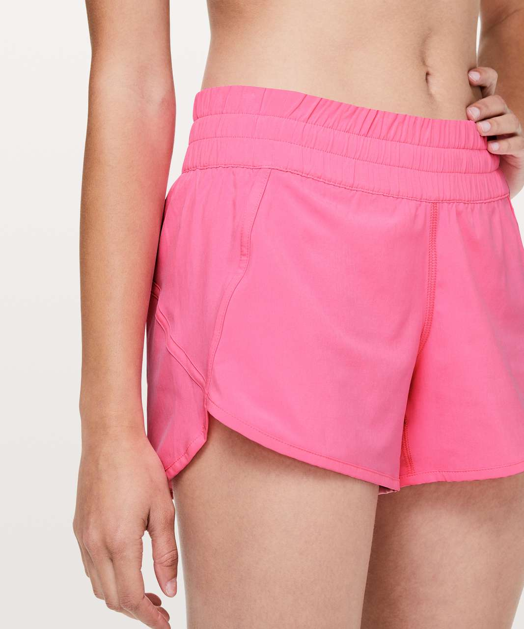 Lululemon Tracker Short V 4 Zing Pink Light Lulu Fanatics