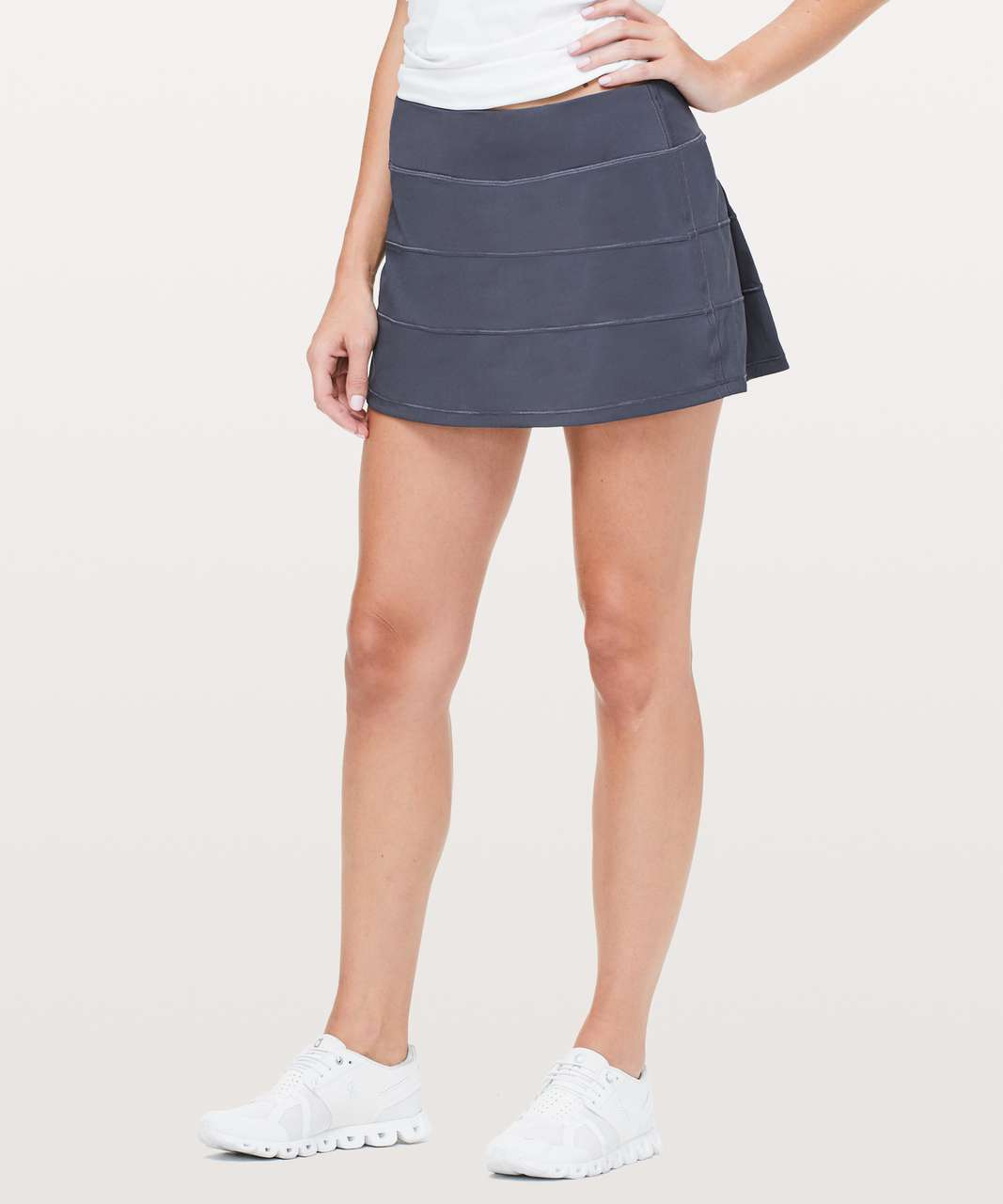 "Lululemon Pace Rival Skirt (Regular) *4-way Stretch 13"" - Cadet Blue"
