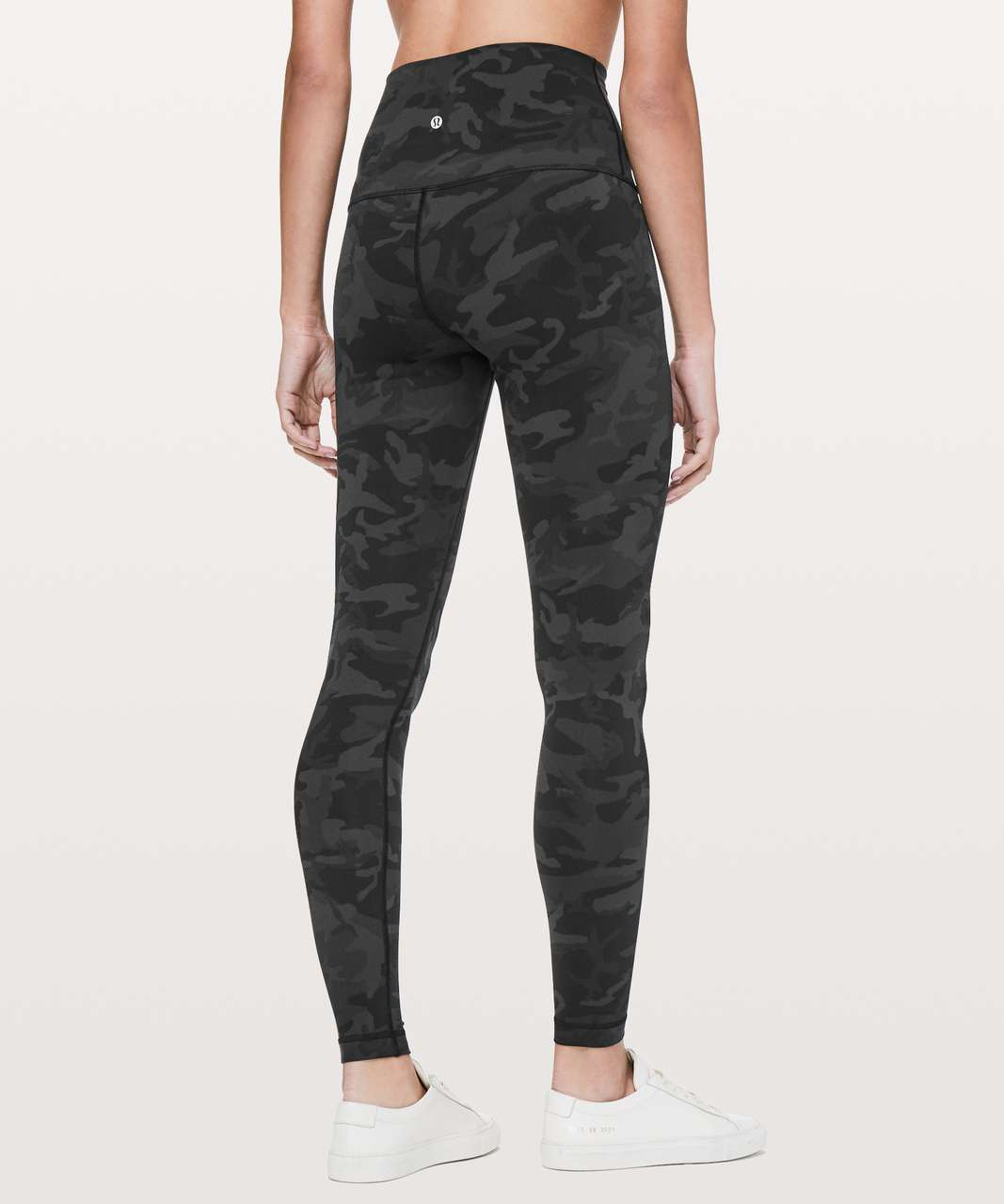 "Lululemon Wunder Under Super Hi-Rise Tight *Full-On Luon 28"" - Incognito Camo Multi Grey"
