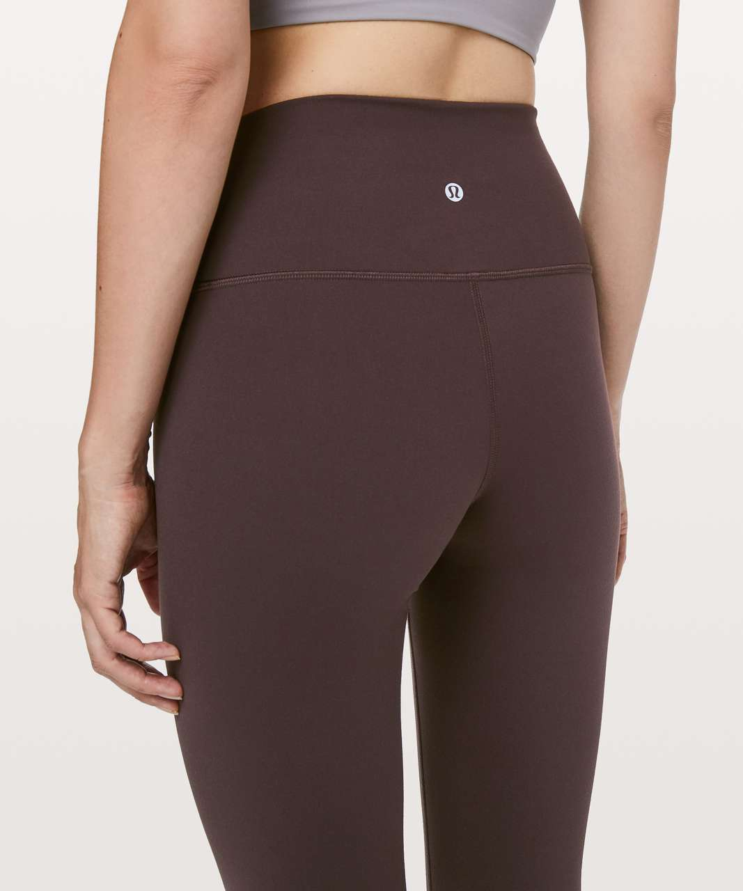 "Lululemon Wunder Under Hi-Rise Tight *28"" - Black Satin"