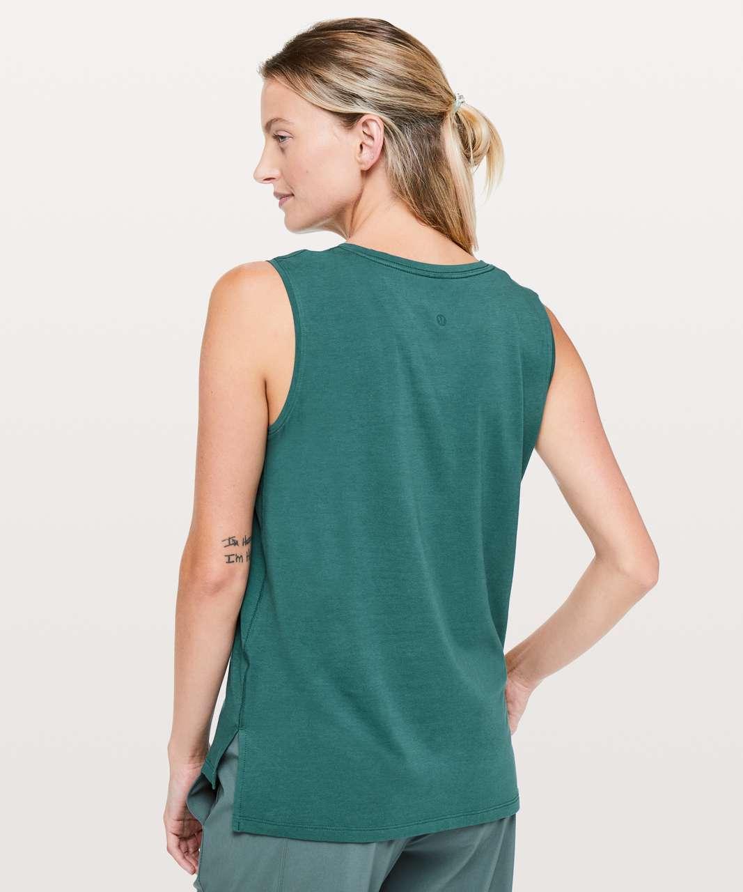 Lululemon Love Sleeveless Tank - Green Jasper