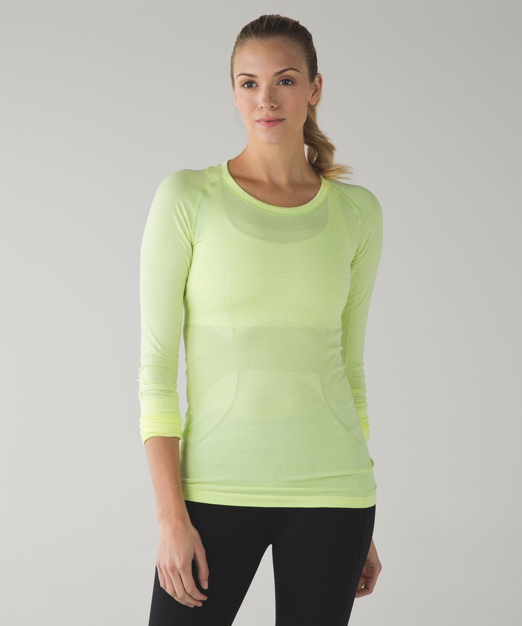 Lululemon Swiftly Tech Long Sleeve Crew - Heathered Ray