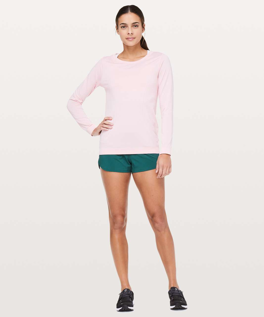 "Lululemon Speed Up Short *2.5"" - Green Jasper"