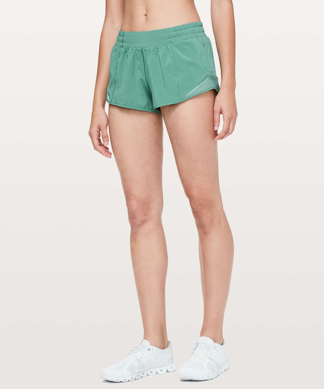 "Lululemon Hotty Hot Short II *2.5"" - Frosted Pine (First Release)"
