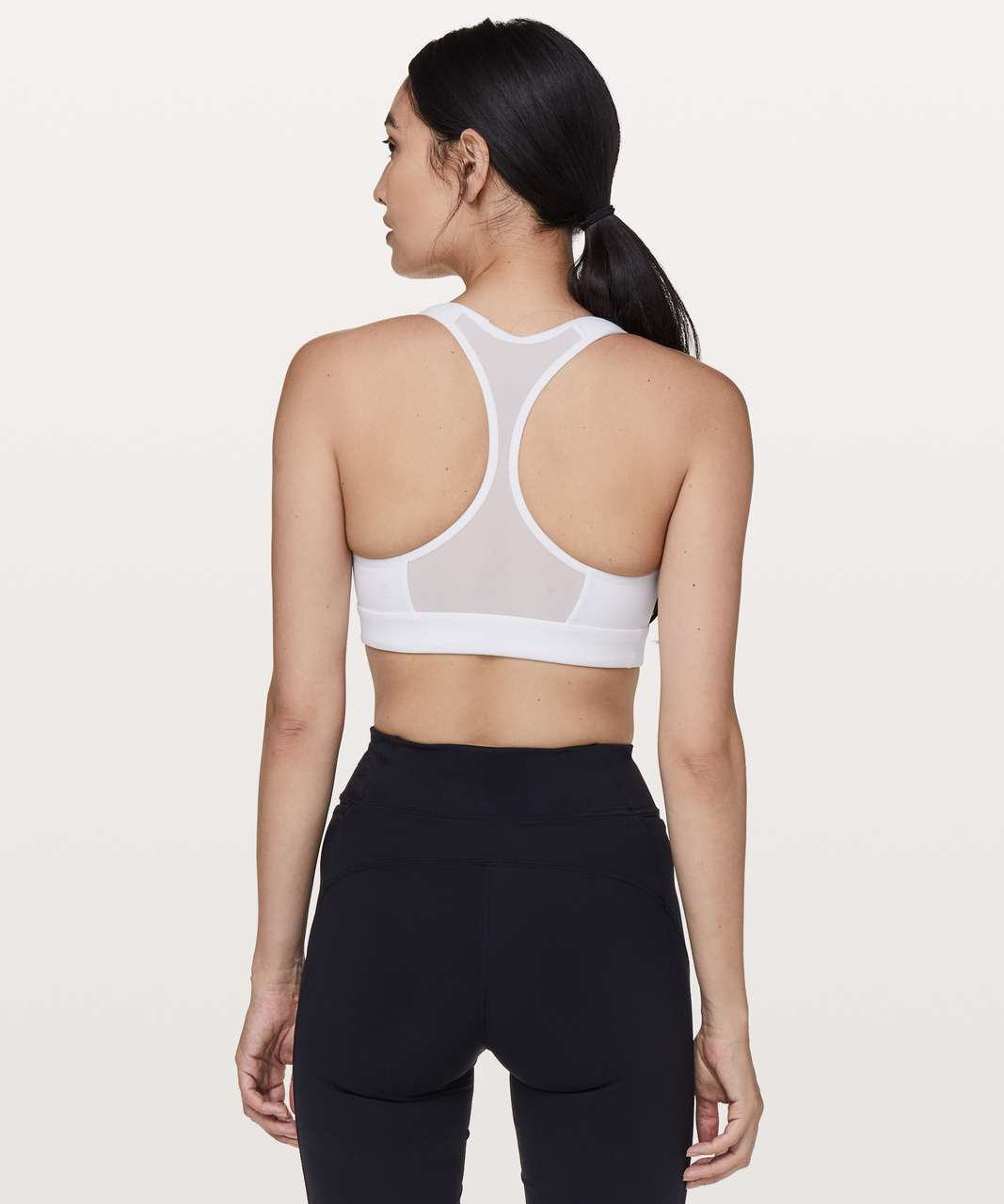 c9bab717e Lululemon Speed Up Bra  High Support for C D Cup - White - lulu fanatics