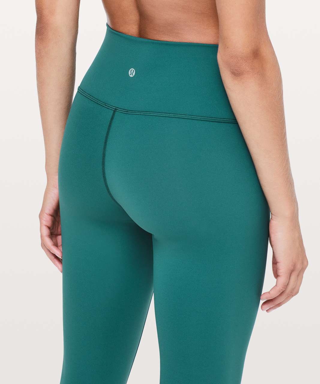 "Lululemon Wunder Under Hi-Rise 7/8 Tight *25"" - Green Jasper"