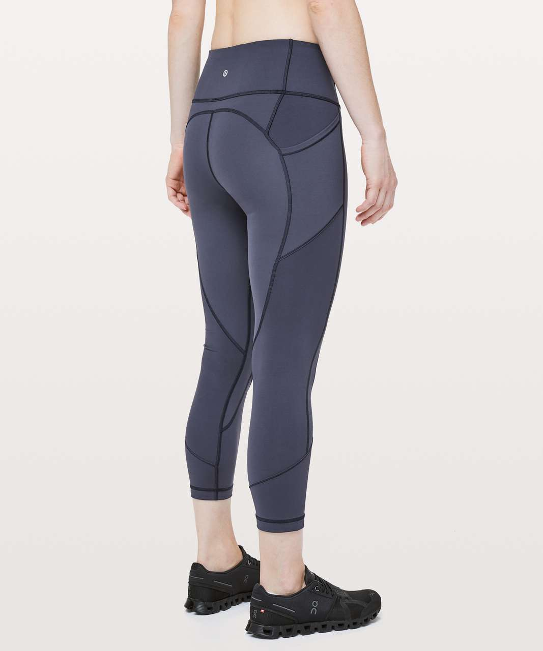 """Lululemon All The Right Places Crop II *23"""" - Cadet Blue"""