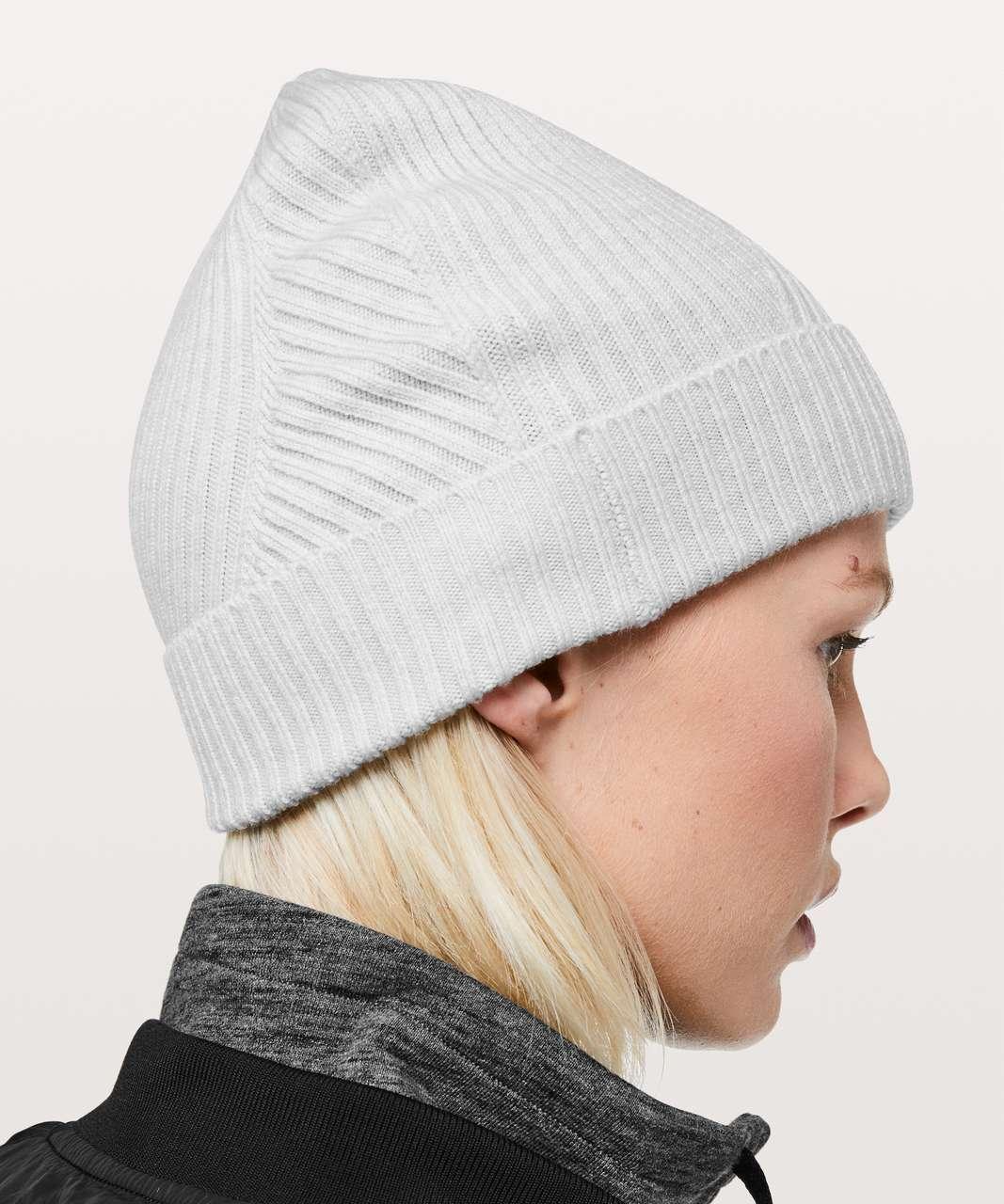 7d9b3bbad1085 Lululemon Twist Of Cozy Knit Beanie - Heathered Core Ultra Light Grey  (First Release)